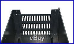 5pc 3U 19 Rack Mount Plastic Enclosure Cabinet G17083UBK Black Gainta EMS