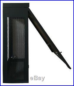 6U 35 Depth Wall Server Cabinet Vertical Equipment Installation Rack Enclosure