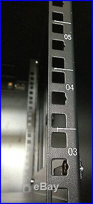 6U Wall Mount Network IT Server Cabinet Enclosure Rack Case Lockable Accessories