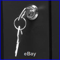 6U Wall Mount Network Server 16 Inch IT Cabinet Rack Enclosure Glass Door