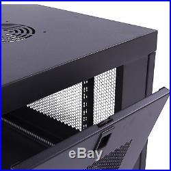 6U Wall Mount Network Server Data Cabinet Enclosure Rack Door Lock