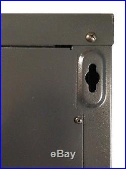 9U 24 Deep Wall Mount IT Network Server Rack Cabinet Enclosure. Free Accessory