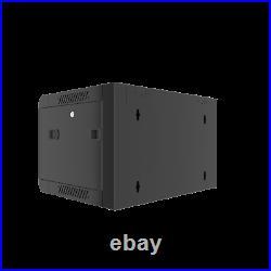 9U Wall Mount Server Rack Network Cabinet Locking Enclosure for Av Data Cabinet