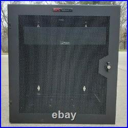 APC AR100HD Netshelter WX Wall Mount Enclosure 13U Switch Coms Rack Cabinet