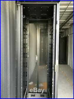 APC AR2100 42U Data Center Standard Rack NetShelter VX Server Cabinet Enclosure