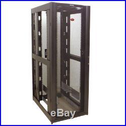 APC AR3000 #3227877 42U 19 NetShelter Rack Enclosure Cabinet