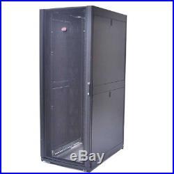 APC AR3150 NetShelter SX 42U Deep Server Rack Enclosure Cabinet No Keys