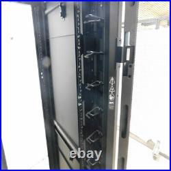 APC NetShelter SX AR3100 Server Rack 42U Cabinet 19 Rack-Mount 2250 lbs Black
