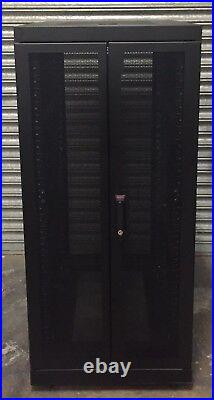 APC NetShelter VS 25U Server Cabinet Rack Enclosure with Side Panels AR2805BLK