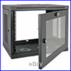 Brand New Tripp Lite 9U Wall Mount Rack Enclosure Cabinet
