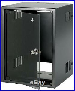CABINET 10 MINI NETWORK 8U BLACK Enclosures & 19 Cabinet Racks