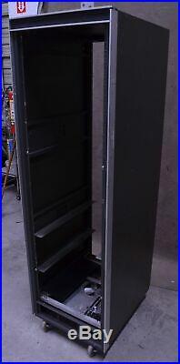 Cabtron Enclosures 19 34U Console System Electronic Rack Cabinet PLC