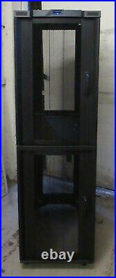 Cannon Dual Cell Co-Locate 42U 600mm x 1000mm Server Rack Cabinet Enclosure