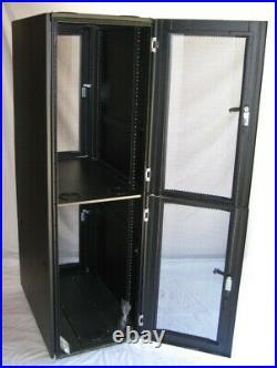 DSI 2 Compartment CoLocation Server Rack Cabinet Enclosure DSI 1242