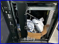 Dell 2420 Poweredge 24u Server Rack 19 Racks Data Cabinet Enclosure