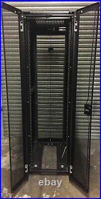 Dell 4220 42u Server Rack Enclosure Cabinet with Side Panels