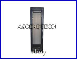 Dell 7142 Series 42u Black Server Cabinet Data Center Rack Enclosure Vris38s USA
