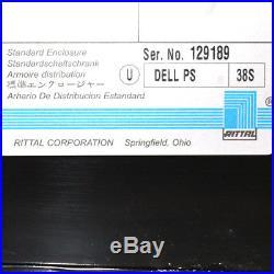 Dell PS38S PowerEdge Server Rack 19 42U Cabinet/Enclosure No Key No Front Door