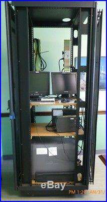 Dell PowerEdge Server Rack 19 42U Cabinet Enclosure Computer