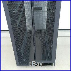 Dell Powered 4210 Series 42u Black Server Cabinet Rack Enclosure Us-0r3066 #2