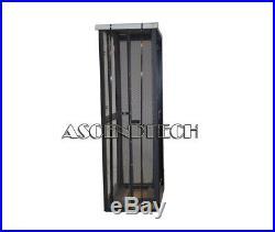 Dell Poweredge 4210 Series 42u Black Server Cabinet Rack Enclosure P3637 0p3637