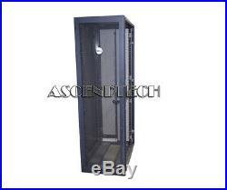 Dell Poweredge 4210 Series 42u Black Server Cabinet Rack Enclosure Us-0r3066 USA