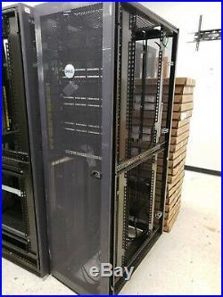 Dell Server Rack Enclosure Computer Cabinet no sides
