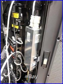 EMC Symmetrix Cabinet Data Disk Storage Array Processor 8-Bay Enclosure Rack