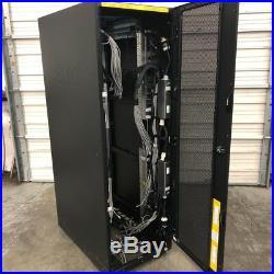 EMC VNX 40U 19 Server Rack Enclosure Cabinet DOOR + SIDE + WHEELS