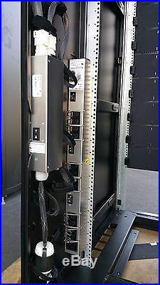 EMC VNX 40U Server Rack Cabinet Enclosure withDoor+Side Panel+Wheels 042-008-626
