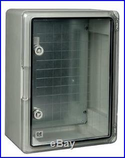 ENCLOSURE TRANS DOOR 350X250X150MM Enclosures & 19 Cabinet Racks
