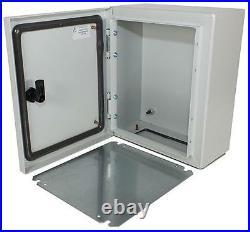 ENCLOSURE WALL MOUNTED 400X300X200MM Enclosures & 19 Cabinet Racks