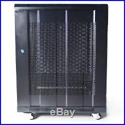 Enclosure meshed Door Lock Server Cabinet Rack Network Cabinets Network
