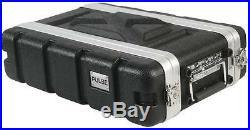 FLIGHT CASE ABS 19 2U SHORT Enclosures & 19 Cabinet Racks