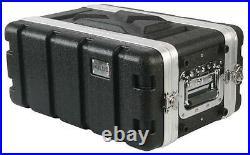 FLIGHT CASE ABS 19 4U SHORT Enclosures & 19 Cabinet Racks