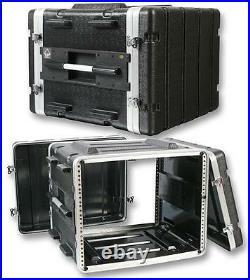 FLIGHT CASE ABS 19 8U Enclosures & 19 Cabinet Racks, FLIGHT CASE, ABS 19