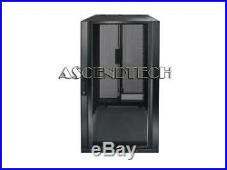 Genuine Emerson Liabert Dcf 24u Server Rack Mount Cabinet Enclosure F4611 250lb