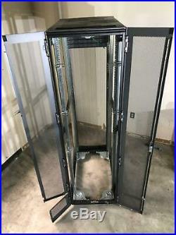 HP 10642 245169-001 42U 19 Server Rack Enclosure Cabinet with Doors & Wheels #2