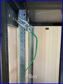 HP 10642 245169-001 42U 19 Server Rack Enclosure Cabinet with Doors & Wheels #5