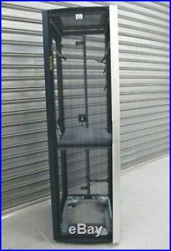 HP 10642 G2 42U Server Enterprise Rack Cabinet Enclosure 383573-001 No Sides