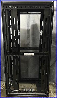 HP 10642 G2 42U Server Rack Cabinet Enclosure With Front & Back Doors 383573-001