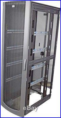 HP 245169-001 Industrial Mount Enclosure 42U Server Graphite Rack Cabinet +Doors