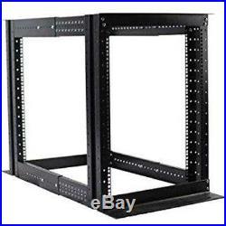 HiFi & HT Cabinets 15U 4 Post Open Frame Server Rack Enclosure 19'' Adjustable