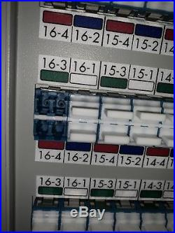 Huge enterprise Fiber Optic Patch Panel Enclosure Rack mount cabinet 2048 ports