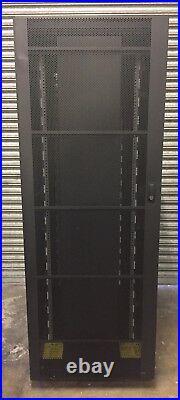 IBM 36U Server Rack Cabinet Enclosure Complete With Side Panels 7014-T00