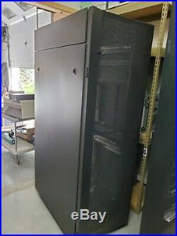 IBM Cabinet 7014-T42 42U Enterprise Server Rack Computer Cabinet Enclosure