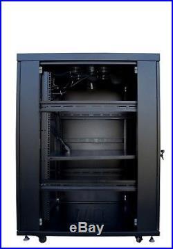 IT & Telecom Network Server Rack Cabinet Enclosure 18U 32(800mm) Depth. CDM