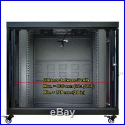 IT & Telecom Premium Server Rack Cabinet Enclosure 12U 35(900mm) Depth. CDM