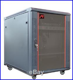 IT & Telecom Server Rack Cabinet Enclosure 15U 35(900mm) Depth. CDM