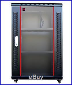 IT & Telecom Server Rack Cabinet Enclosure 18U 18(450mm) Depth. CDM